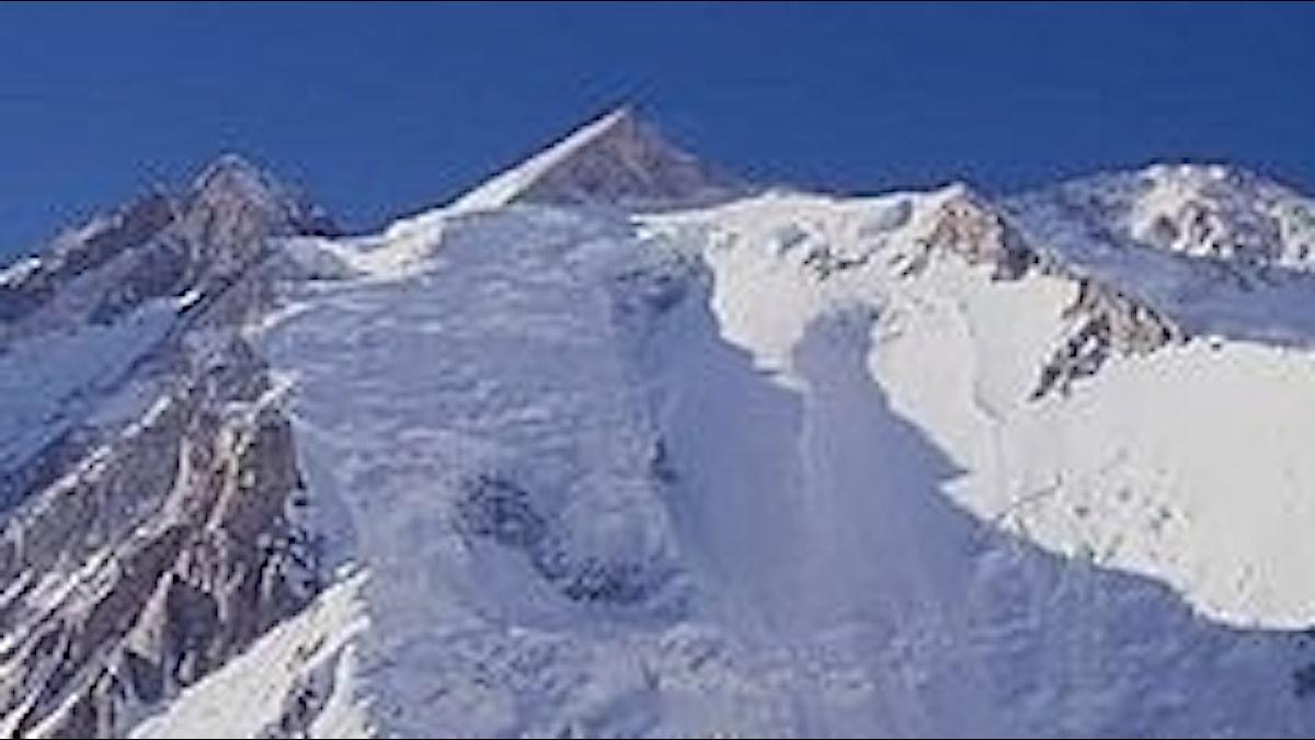 Gasherbrum, ett högt berg i Kina som inspirerat till musik