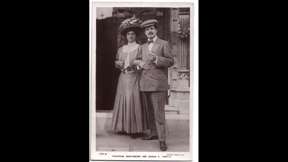 Kronprinsessan Louise och Herr Toselli