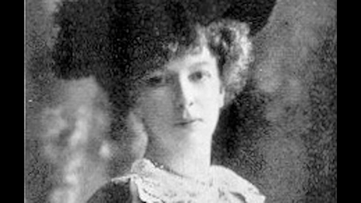 Cécile Chaminade som ung