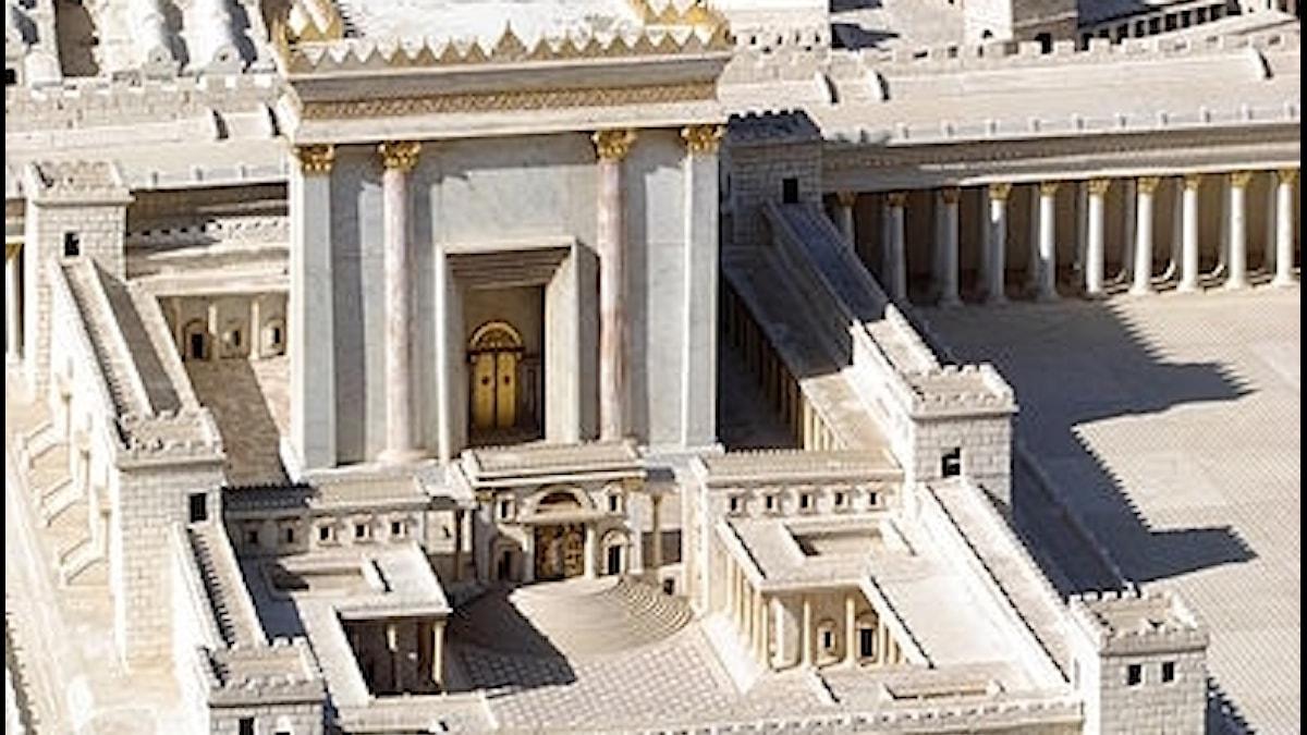 Jerusalems tempel, modell