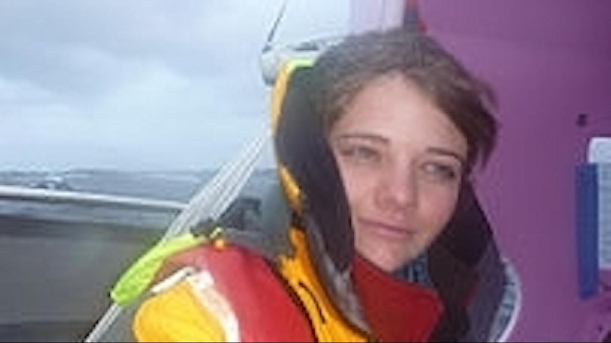 Jessica Watson vid Kap Horn