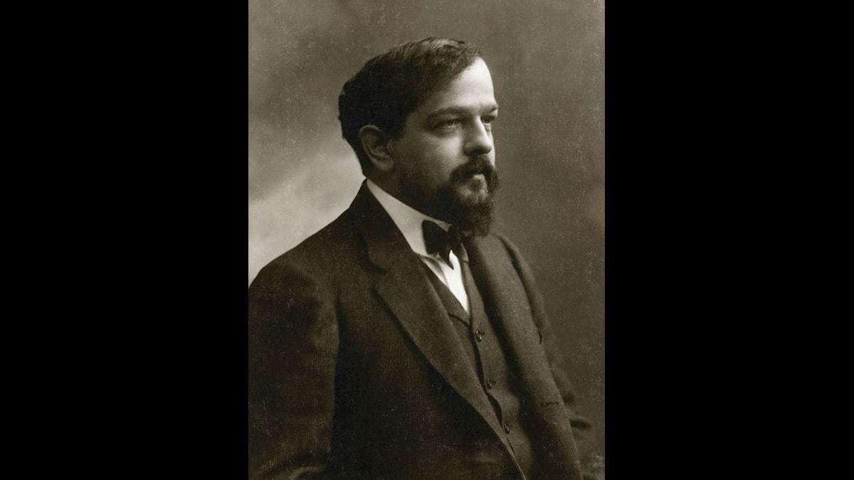 Claude Debussy på en bild av den franske fotografen Nadar