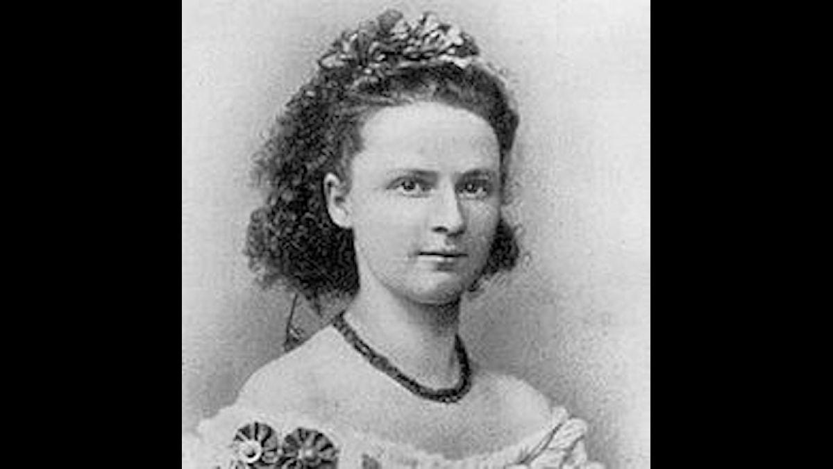 Luise Adolpha Le Beau som liten