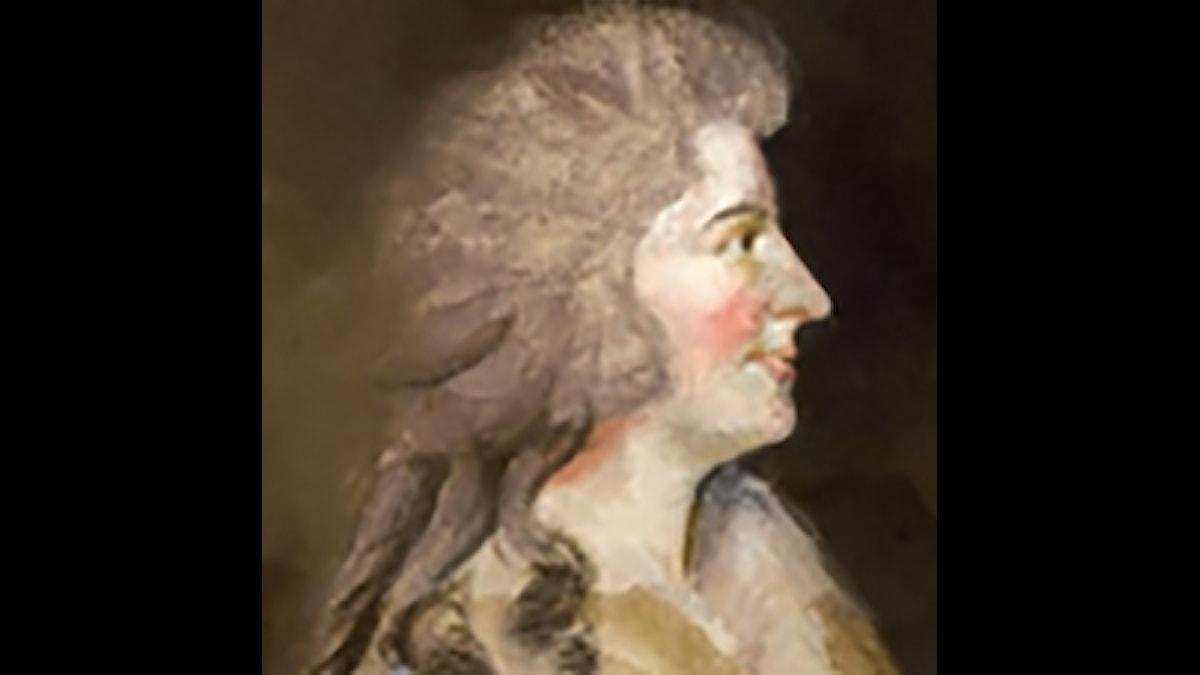 Sophia Corri-Dussek, som gillade harpa