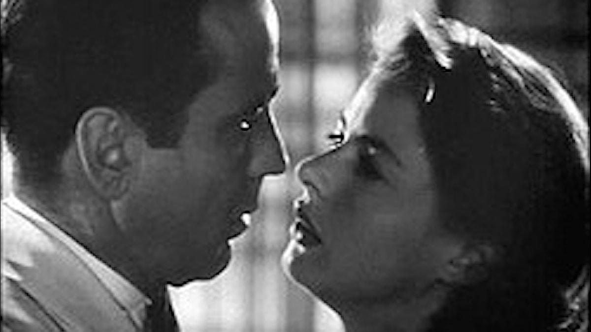 Casablanca, Humphrey Bogart och Ingrid Bergman