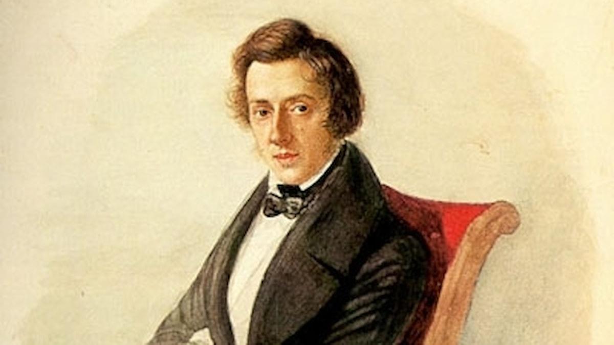 Frederic Chopin, målning av Maria Wodzinsky