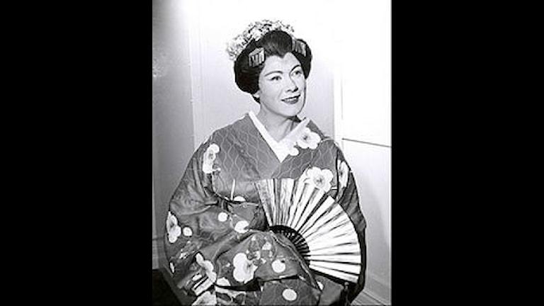 Renata Tebaldi som Madame Butterfly