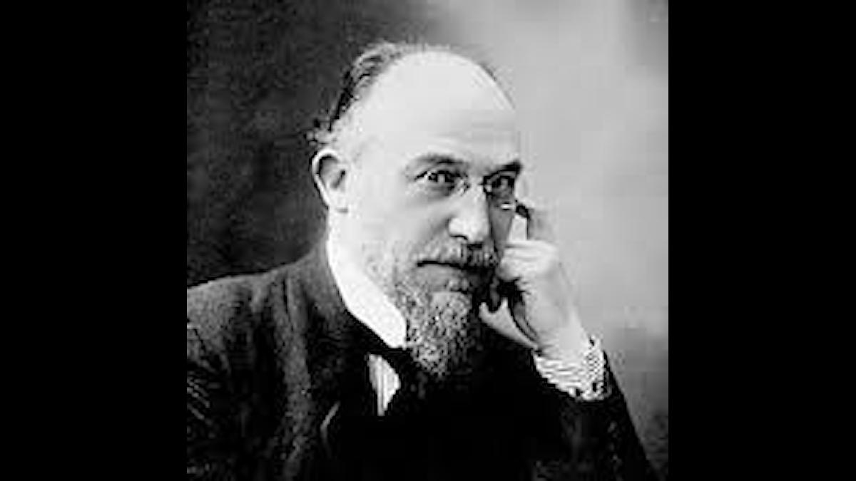 Erik Satie vid lite äldre år