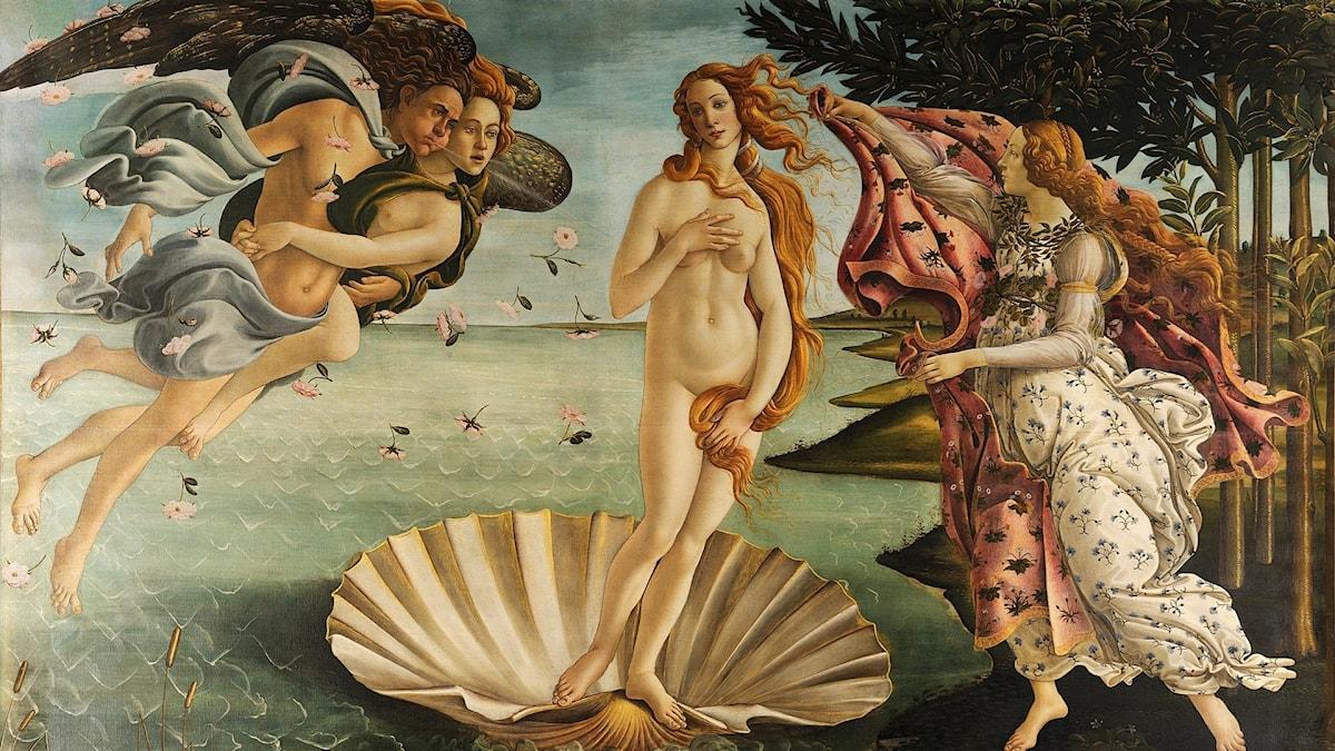 Sandro Botticelli: Venus födelse