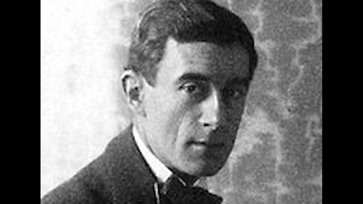 Maurice Ravel som han såg ut vid tiden för verket
