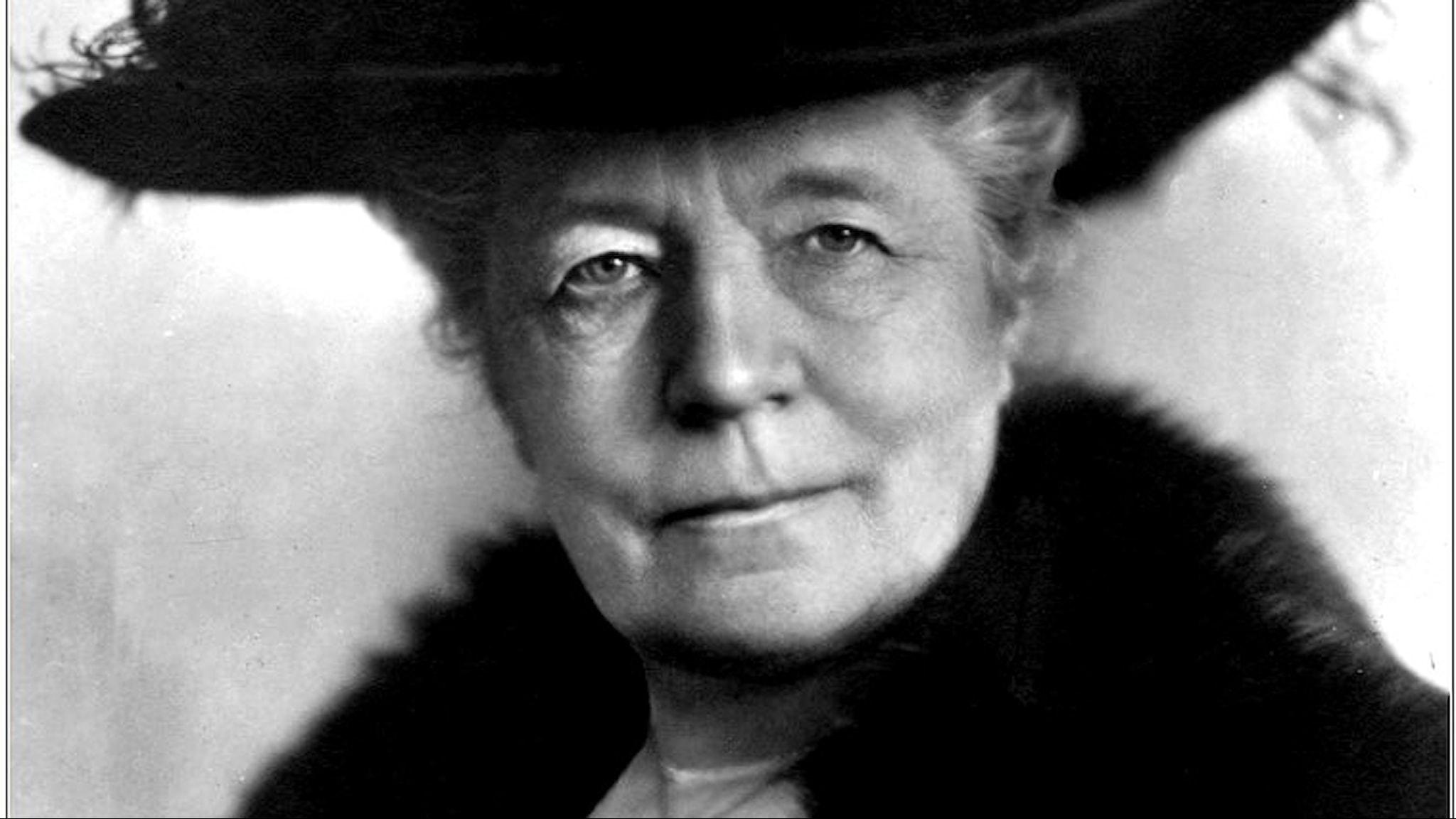 Selma Lagerlöf. Av Atelje Jaeger, 1922/Mårbackastiftelsen.
