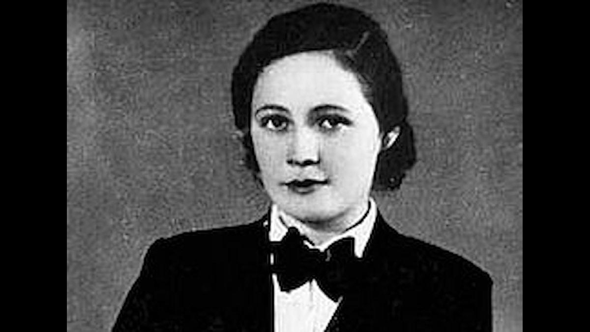 Vitezslava Kapralova foto från 1935
