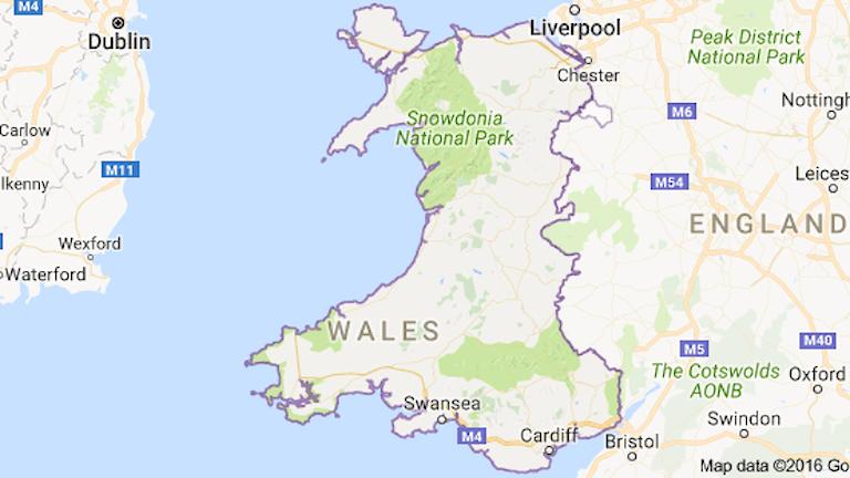 Wales som William Mathias föddes i