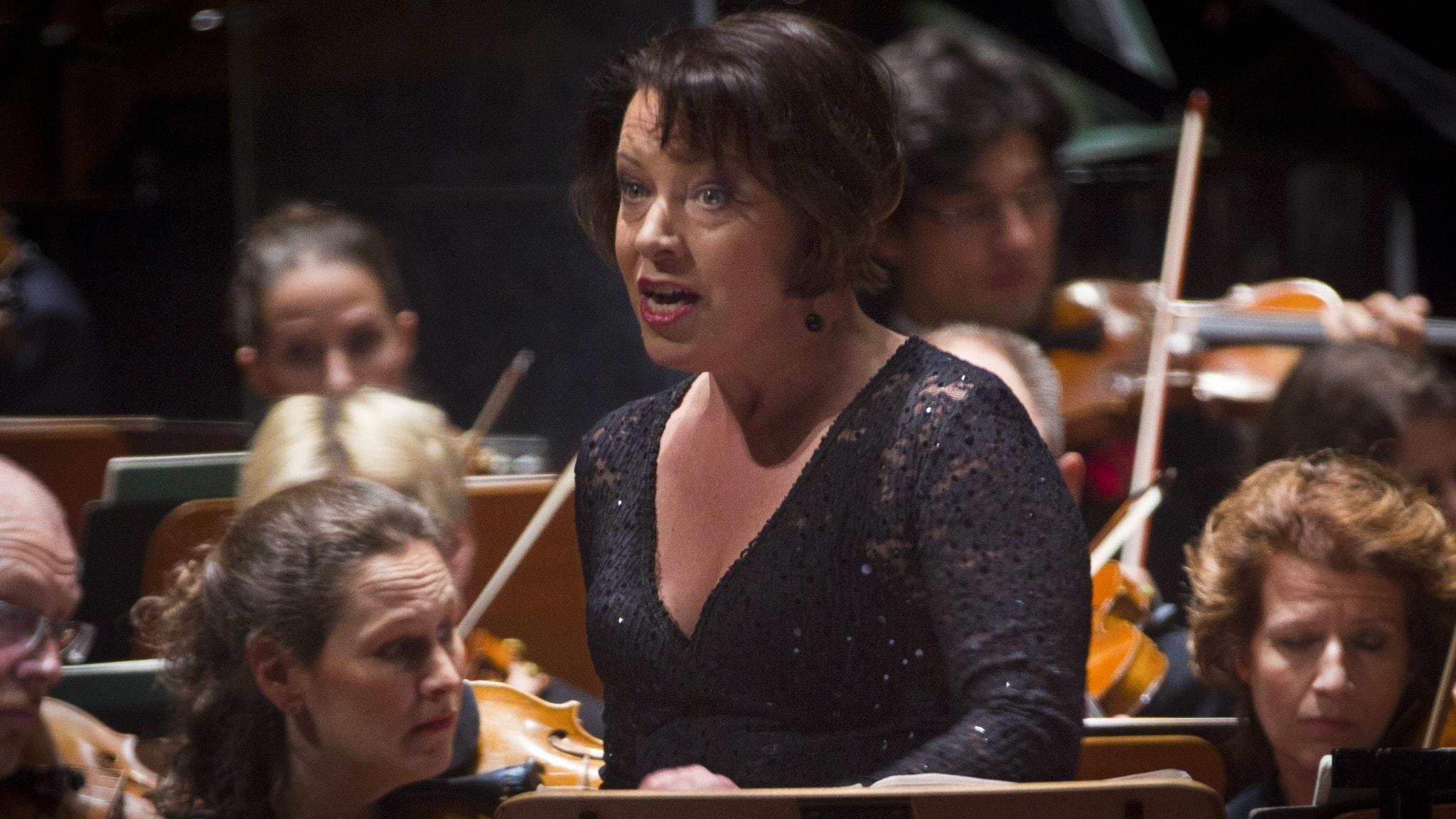 Nina Stemme sjunger titelrollen i Strauss opera Elektra
