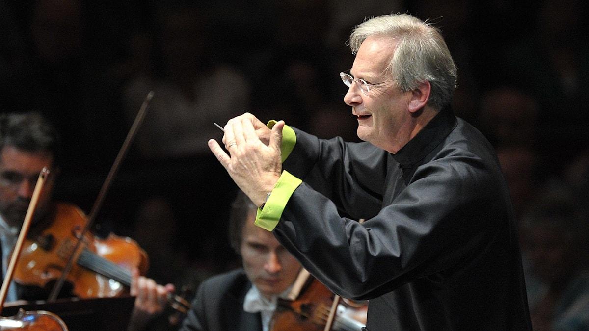 Bild: Dirigenten John Eliot Gardiner