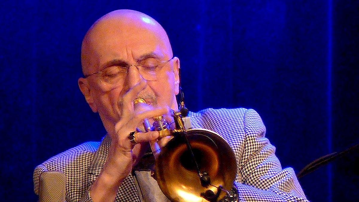 Bild på trumpetaren Tomasz Stanko.