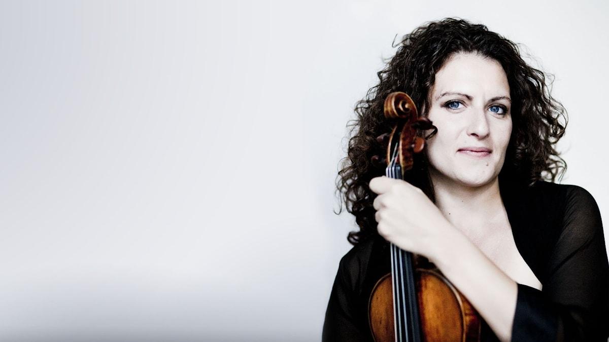 Den holländska violinisten Liza Ferschtman.