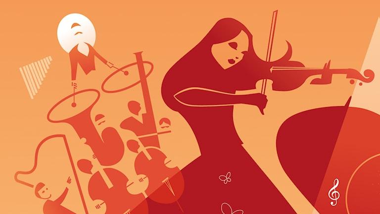 Programbild för Klassiska konserten i P2 (fd P2 Live)