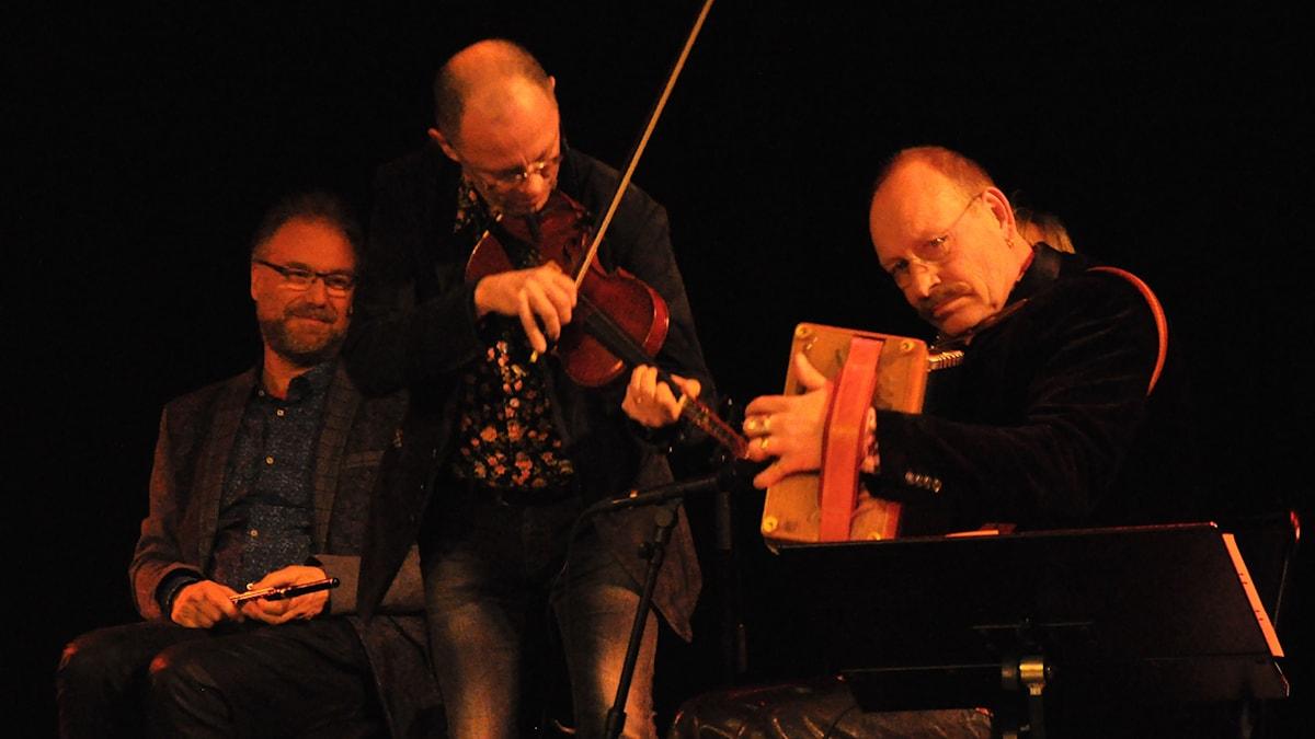 Mats Edén, Leif Stinnerbom och Jonas Simonsson.
