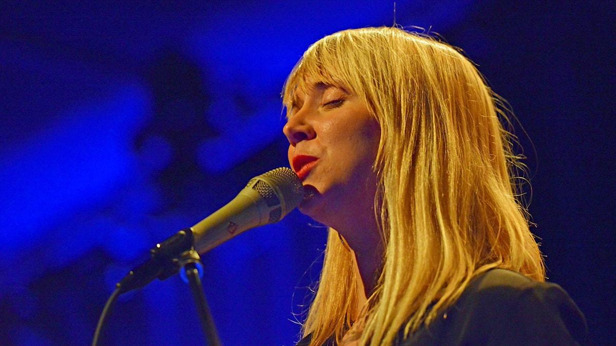 Sofie Norling, sångerska i Nuaia.