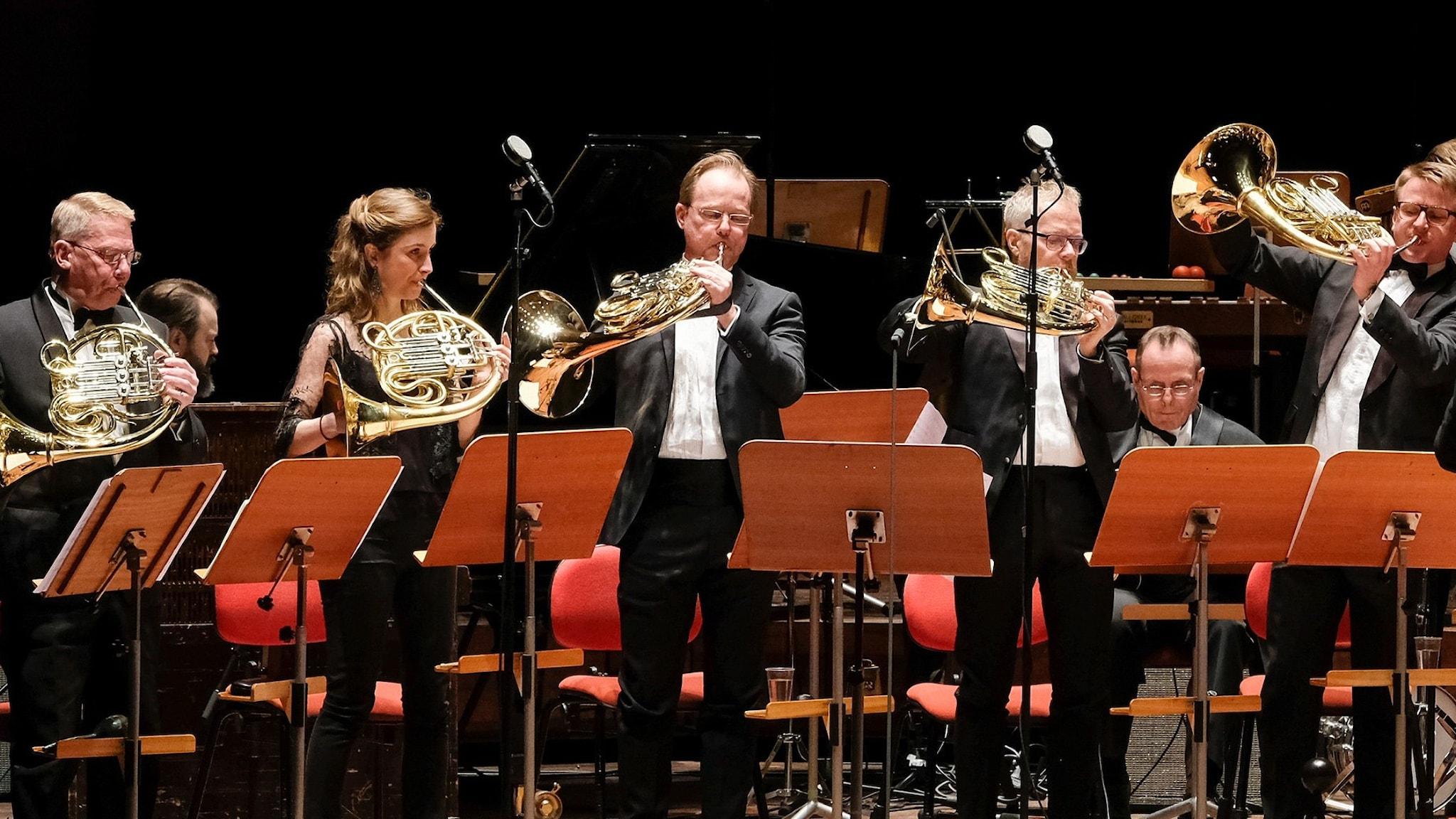 Sveriges Radios symfoniorkesters brass.