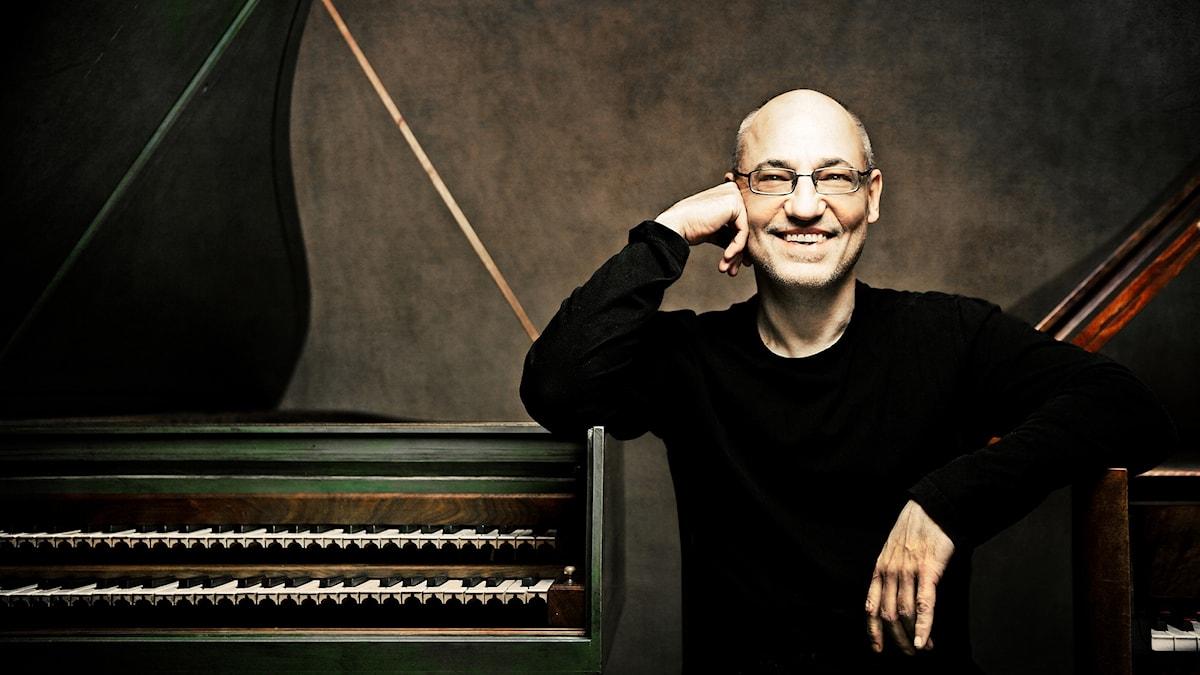 Den tyska cembalisten och pianisten Andreas Staier.