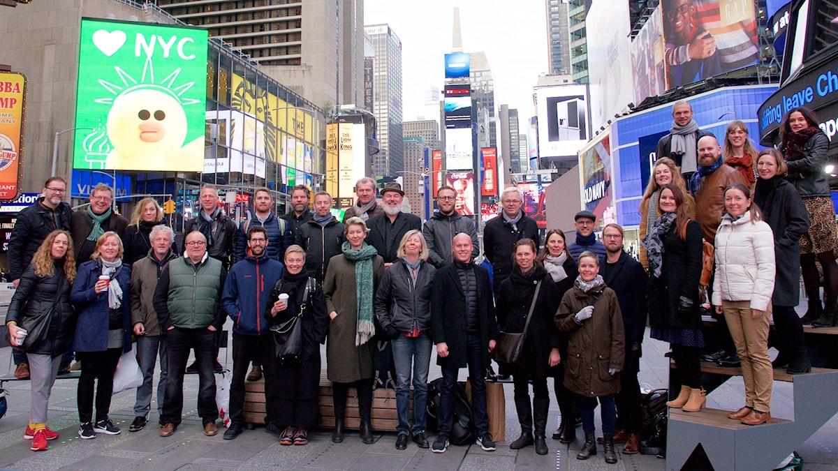 Radiokören på Times Square