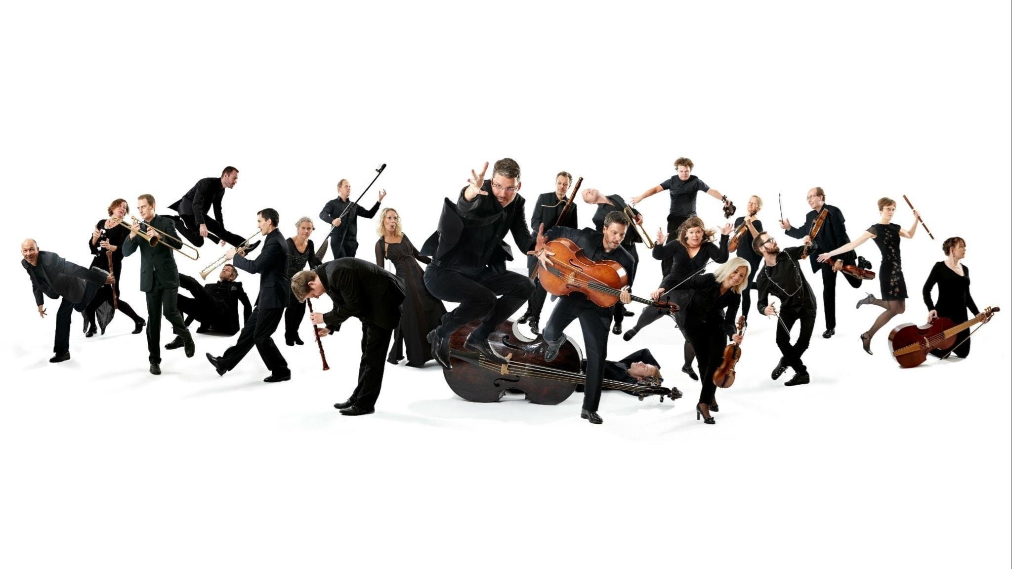 Göteborg Baroque spelar och sjunger Bach