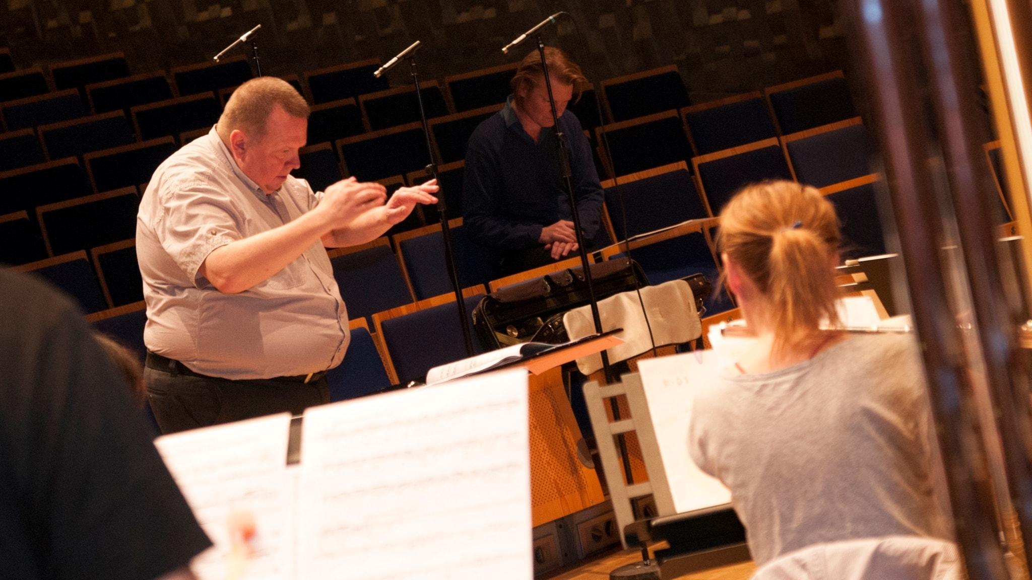 B Tommy Andersson dirigerar Norrbotten Neo vid New Directions Festival i Piteå 2017