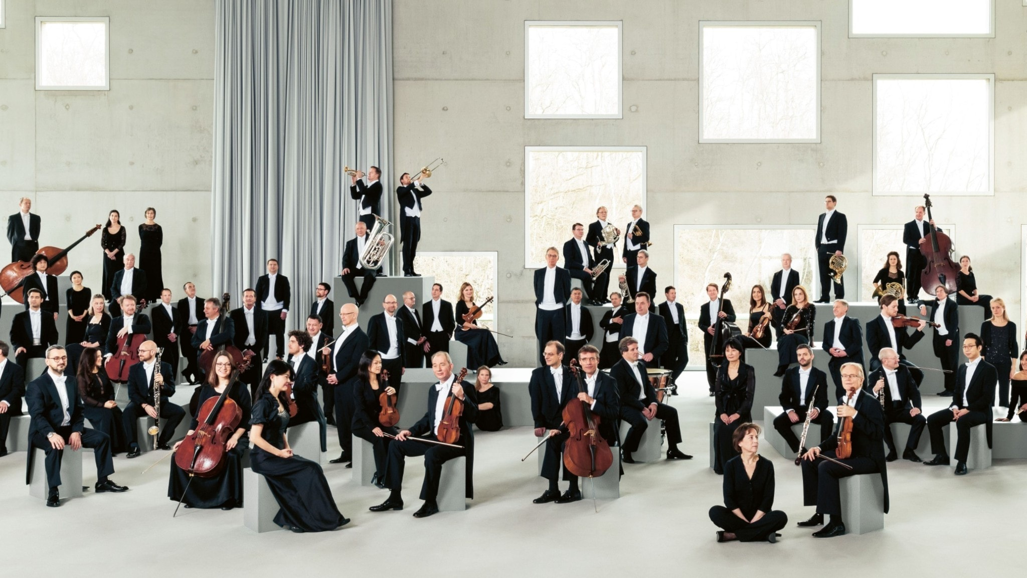 Bild: Västtyska radions symfoniorkester.
