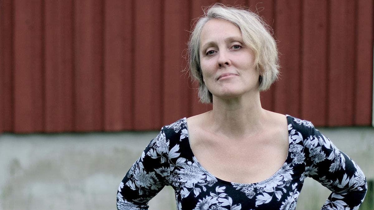 Kompositören Malin Hülphers.