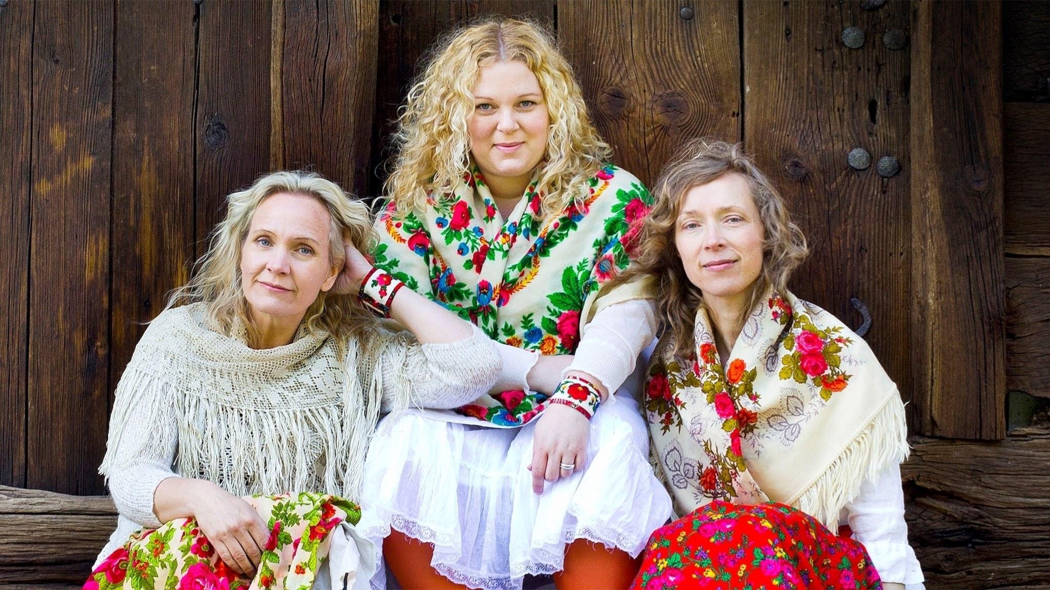 Irmelin. Maria Misgeld, Karin Ericsson Back och Eva Rune