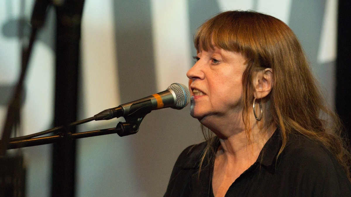 Sidsel Endresen Foto: Helena Andersson/Sveriges Radio