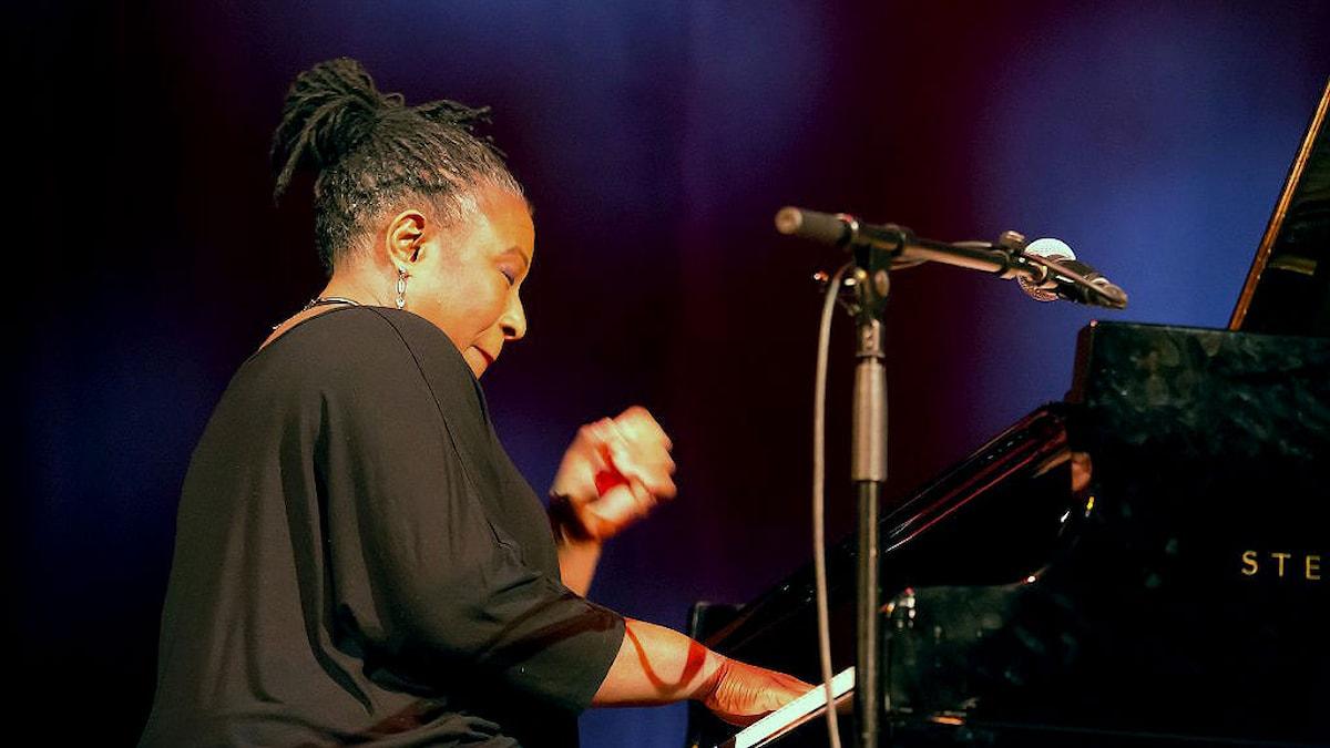 Pianisten Geri Allen.