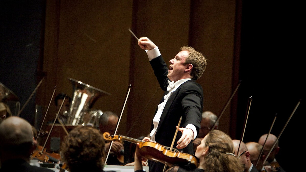 Sveriges Radios Symfoniorkesters chefsdirigent Daniel Harding. Foto: Micke Grönberg/Sveriges Radio