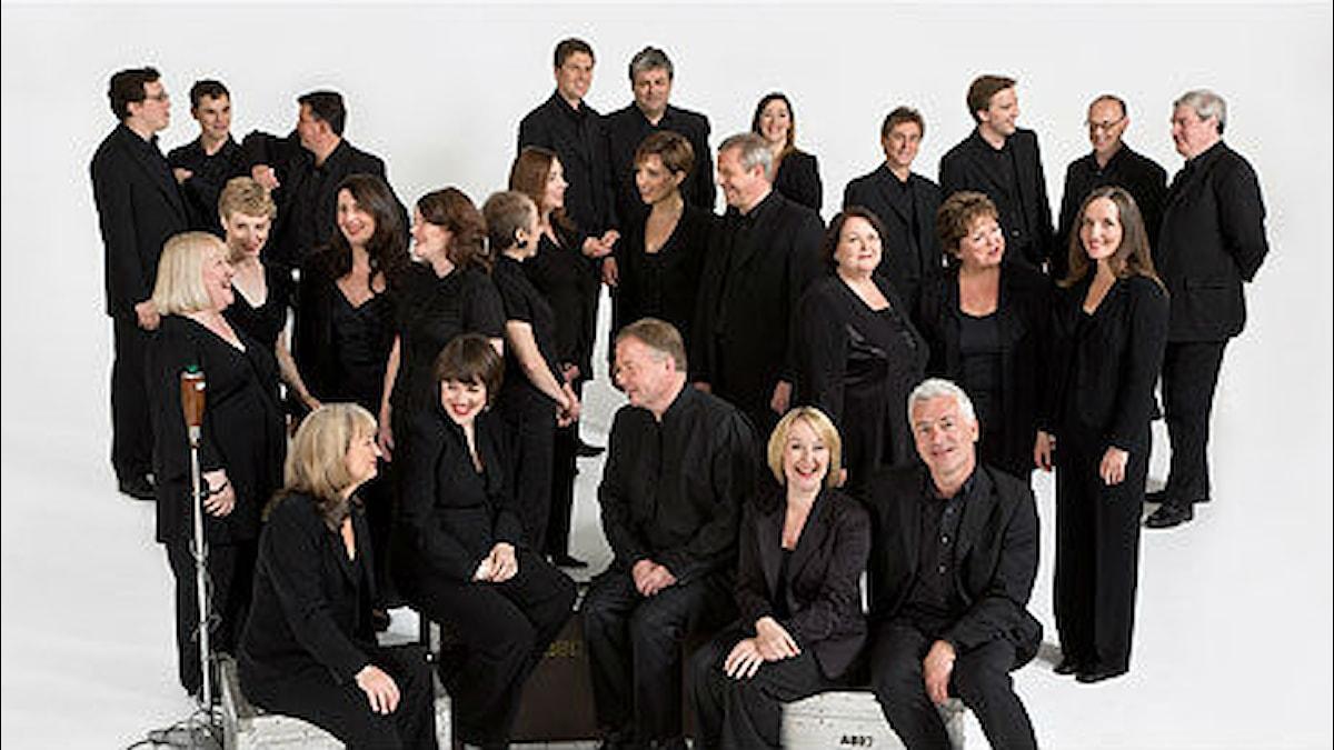 BBC Singers. Pressbild/bbc.co.uk/singers