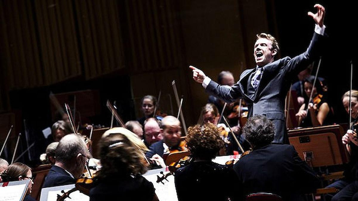Daniel Harding, Sveriges Radios Symfoniorkesters chefsdirigent. Foto: Stina Gullander/Sveriges Radio