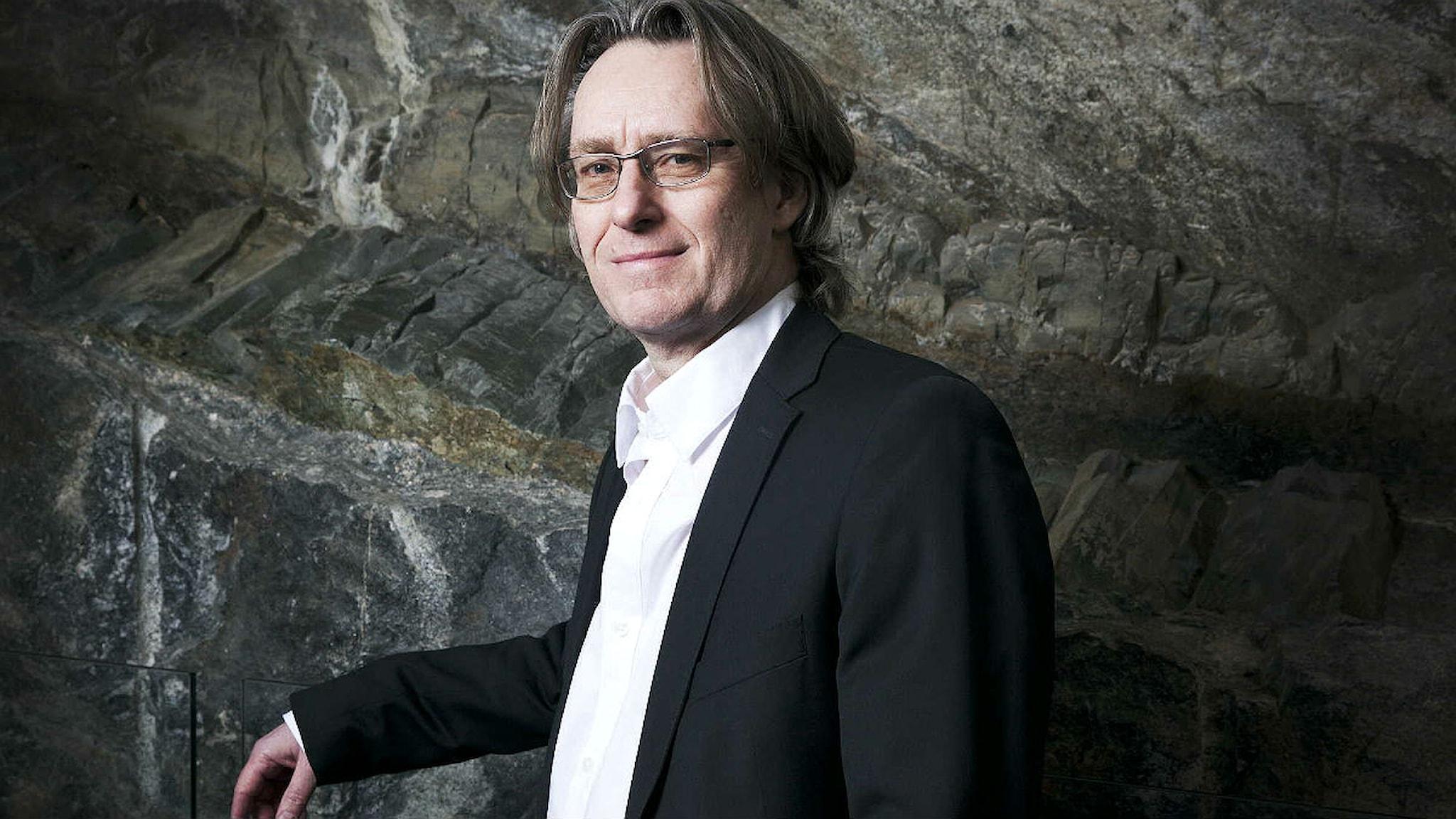 Anders Hillborg. Foto: Mattias Ahlm/Sveriges Radio