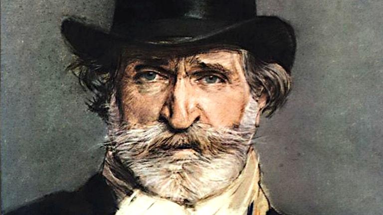 Giovanni Boldinis porträtt av Giuseppe Verdi från 1886.