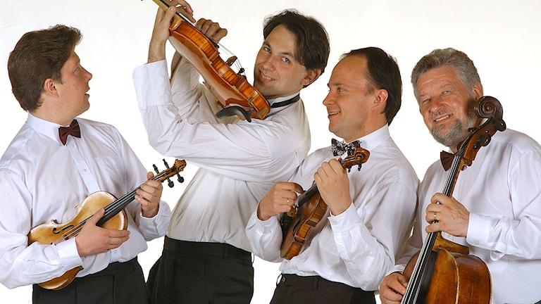 Litauiska Ciurlioniskvartetten. Pressbild/ciurlionisquartet.com