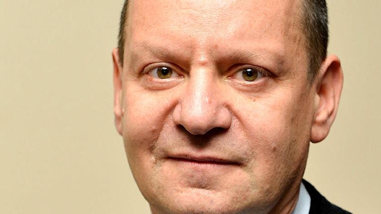 Den engelske människorättsadvokaten Philippe Sands. Foto: Arne Hyckenberg/Sveriges Radio
