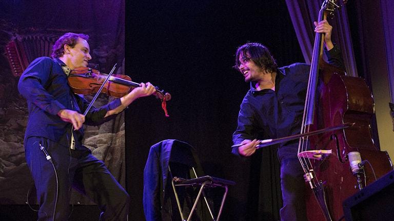 Ungerska Buda Folk Band. Foto: Micke Grönberg/Sveriges Radio