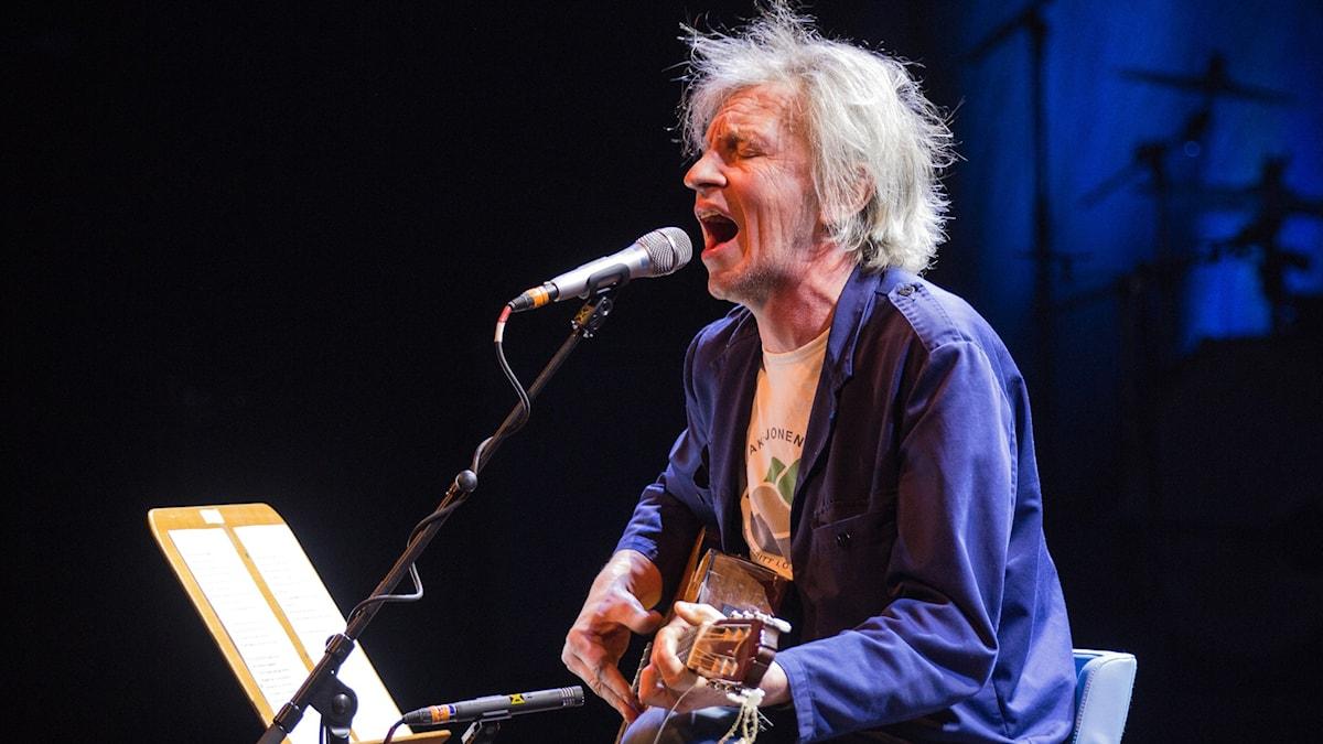 Stefan Sundström under Folk- och världsmusikgalan 2015.