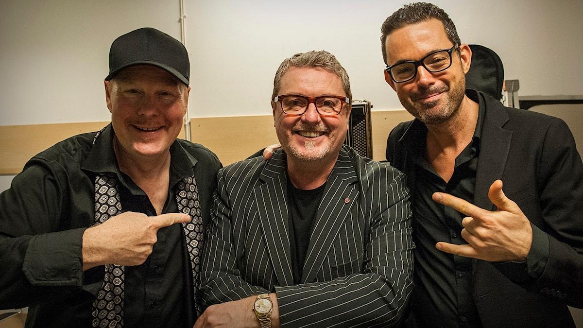 Ulf Wakenius, Martin Taylor och Robin Nolan