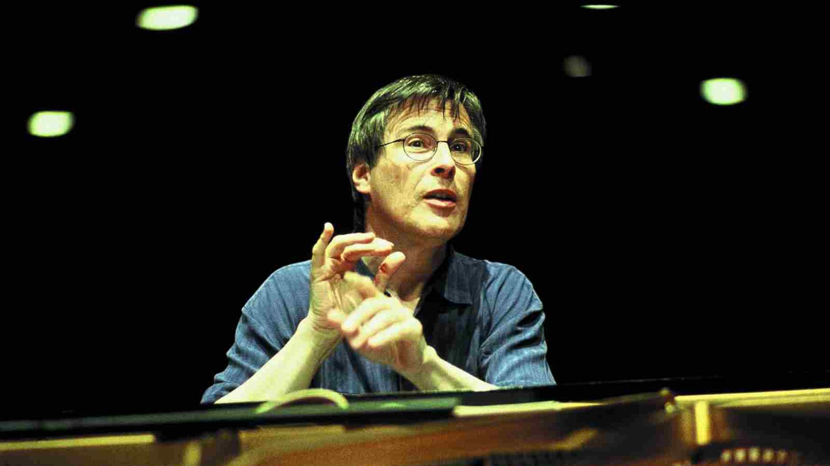 Den tyske pianisten Christian Zacharias. Foto: Marc Vanappelghem