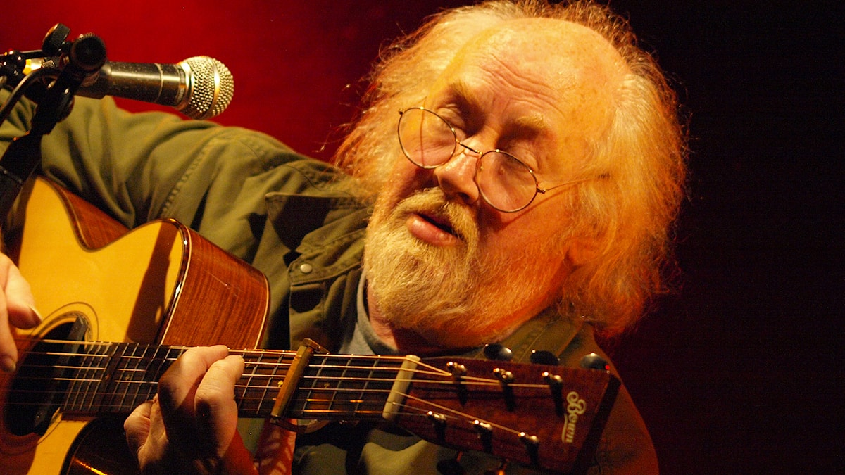 Den engelska gitarristen John Renbourn dog den 26 mars i år. Foto: Flickranvändaren Sean Rowe/CC BY-NC-ND 2.0