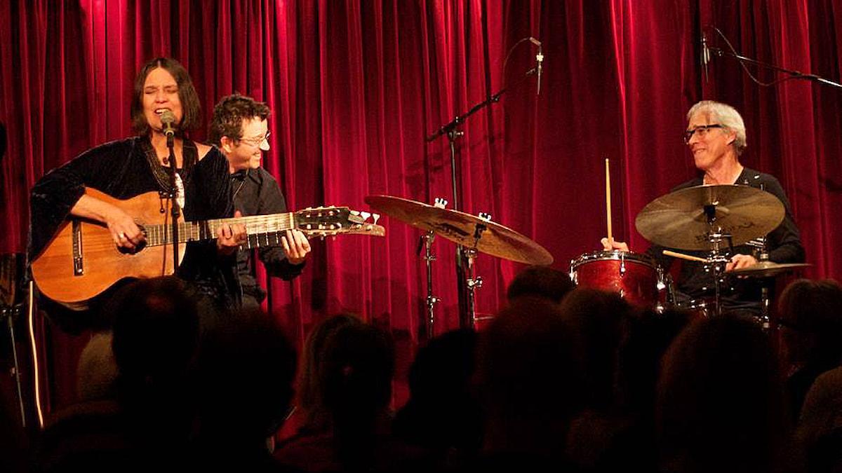 Joyce Moreno. Foto: Miriam Aïda/Sveriges Radio