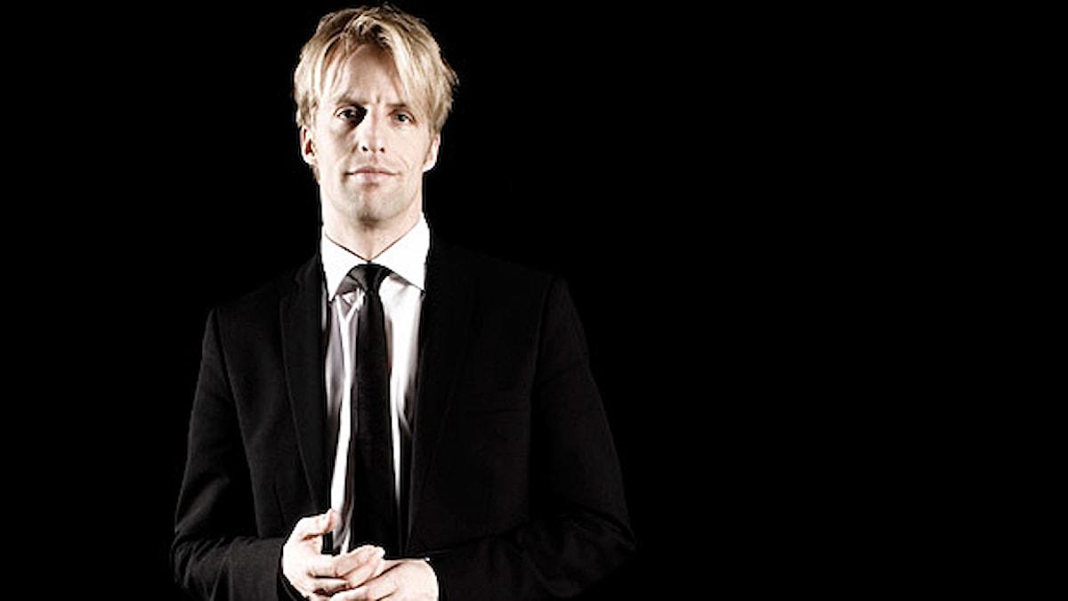 Dirigenten Olof Boman. Foto: Kristof Fischer/olofboman.com