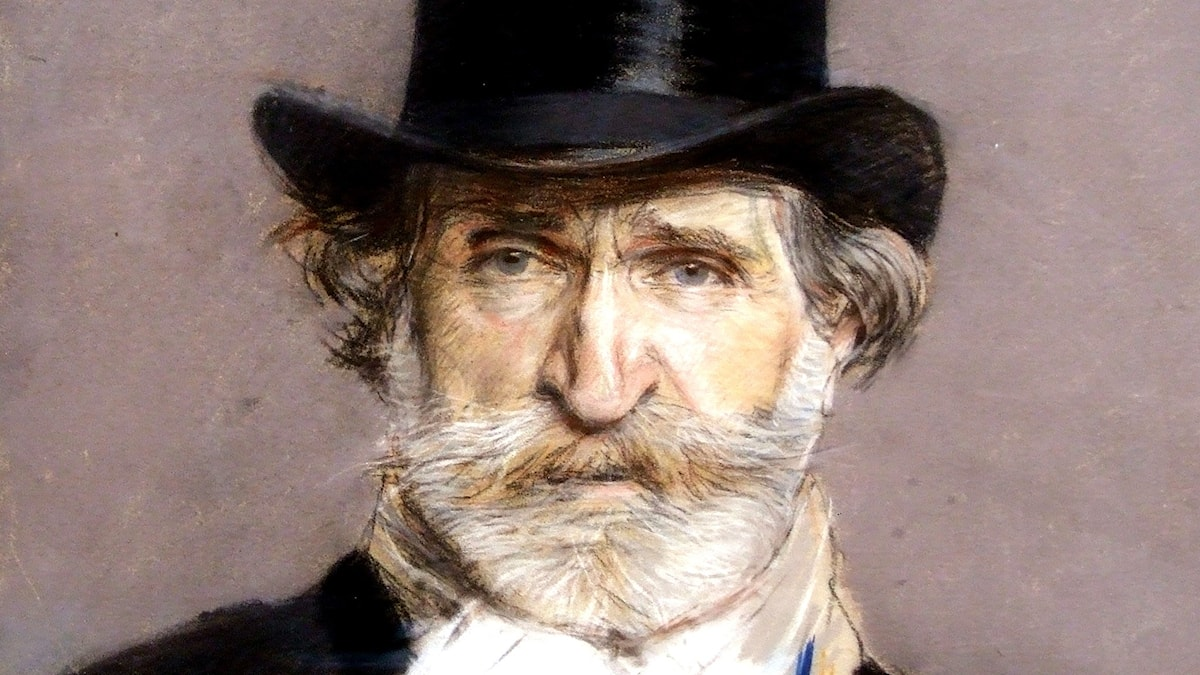 Giuseppe Verdi. Målning av Giovanni Boldini, 1886. Flickr user: Chloé. CC BY-NC-SA 2.0