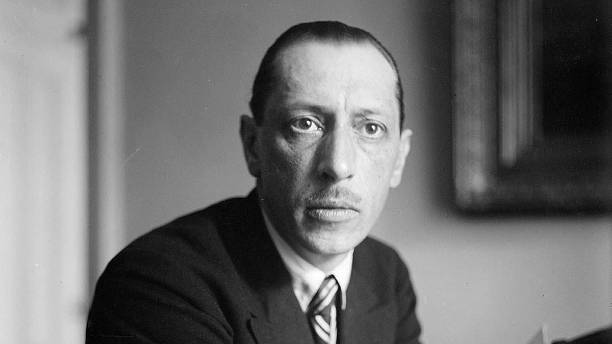 Igor Stravinsky någon gång på 20- eller 30-talet.